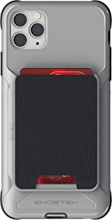 Ghostek Exec Designed for iPhone 11 Pro Max Wallet Case with Card Holder Phone Cover Built-in Magnet for Magnetic Mounts & Detachable Leather Pocket for Wireless Charging iPhone Pro Max 6.5
