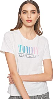 Tommy Jeans Women's Tjw Summer Multicolor Tommy T-Shirt