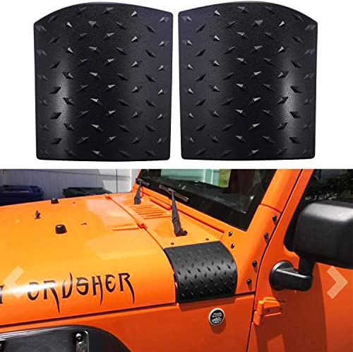 Bentolin Cowl Body Armor Powder Coated Finish Outer Cowling Cover Compatible with Jeep Wrangler JK Rubicon Sahara Spo...