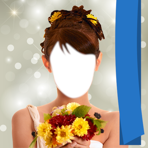 Frau Haar Blumen Salon