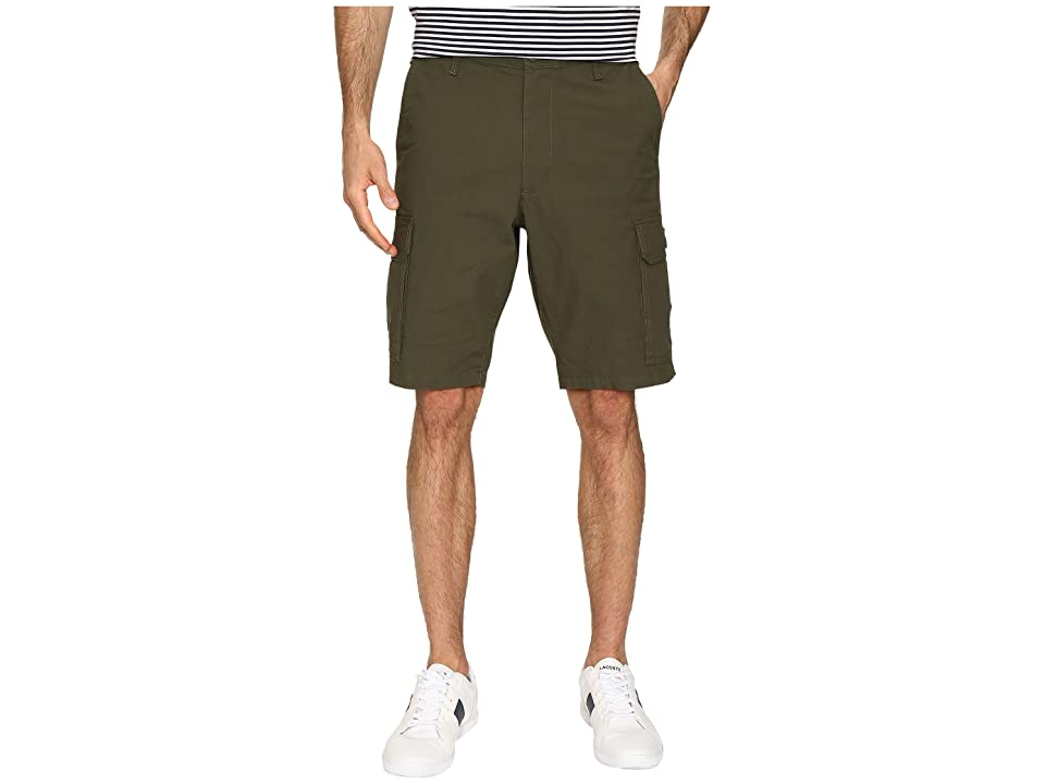 Dockers Standard Washed Cargo Shorts (Dockers Olive) Men