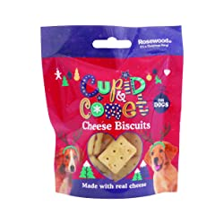 Rosewood Cupid and Comet Cheese Biscuits for Dogs, 40 g