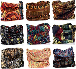 9PCS Headbands, Outdoor Multifunctional Headwear, Sports Magic Scarf, High Elastic Headband with UV Resistance, Athletic Headwrap, Mens Sweatband, Womens Hairband