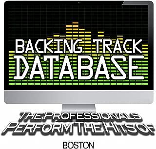 boston backing tracks