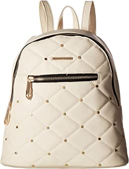 Quilted Stud Midi Backpack