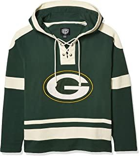 NFL Men's OTS Grant Lace Up Pullover Hoodie