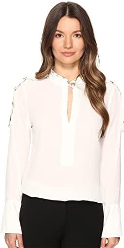 Classic Tailored Blouse