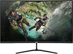 "Acer ED320QR Sbiipx 31.5"" 1800R Curved Full HD (1920 x 1080) Monitor // 165Hz Refresh Rate / 1ms Response Time/Contrast Ra..."
