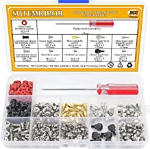Sutemribor 300PCS Personal Computer Screw Standoffs Set Assortment Kit with a Screwdriver for Hard Drive Computer Case Motherboard Fan Power Graphics