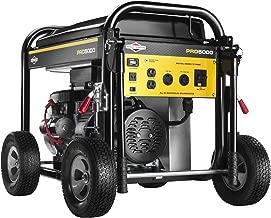 Briggs & Stratton 30554, 5000 Running Watts/6250 Starting Watts, Gas Powered Portable Generator