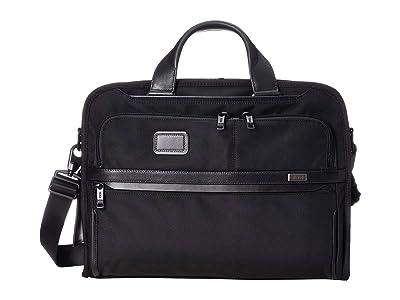Tumi Alpha 3 Organizer Portfolio Brief (Black) Luggage