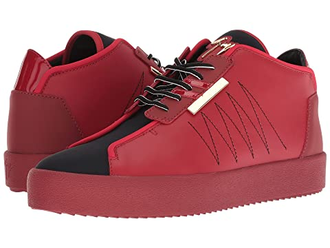 Giuseppe Zanotti May London Neoprene Mid Top Sneaker