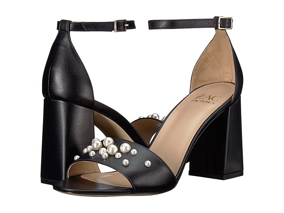 ZAC Zac Posen Eve Pearls (Black) Women