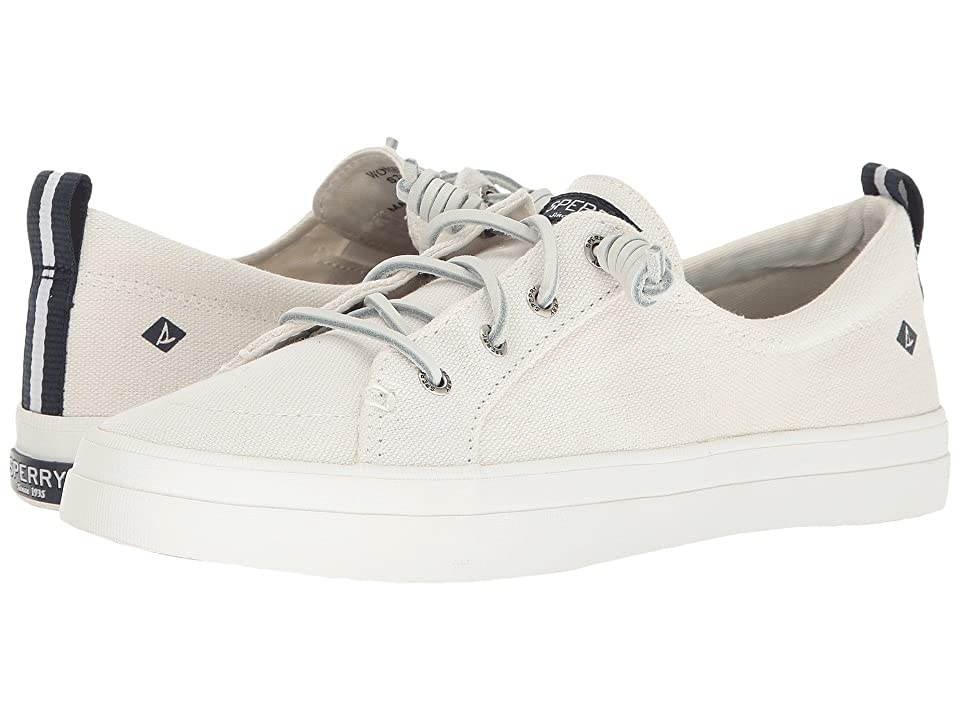 Sperry Crest Vibe Washed Linen (White) Women