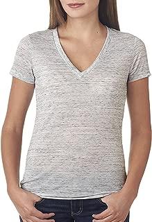 Bella+Canvas Women's Ringspun Deep V-Neck Jersey T-Shirt