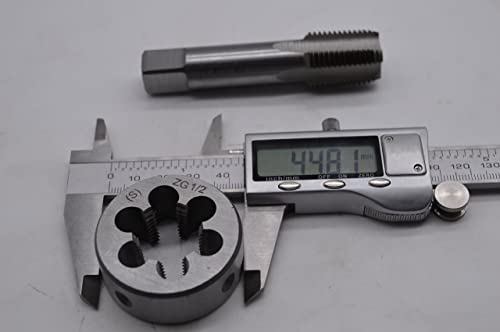 lowest ZIMING-1 1pc ZG1/2-14 tap + 1pc ZG1/2-14 high quality die,ZG1/2-14 British US made new arrival right hand taper brand(S) online sale