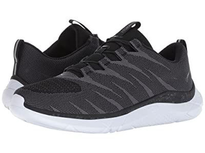 Hoka One One Hupana Knit Jacquard (Black/White) Men