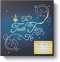 The Tooth Fairy Kit  — Includes book, a star pillow with a pocket for teeth and treasures, and a keepsake journal.