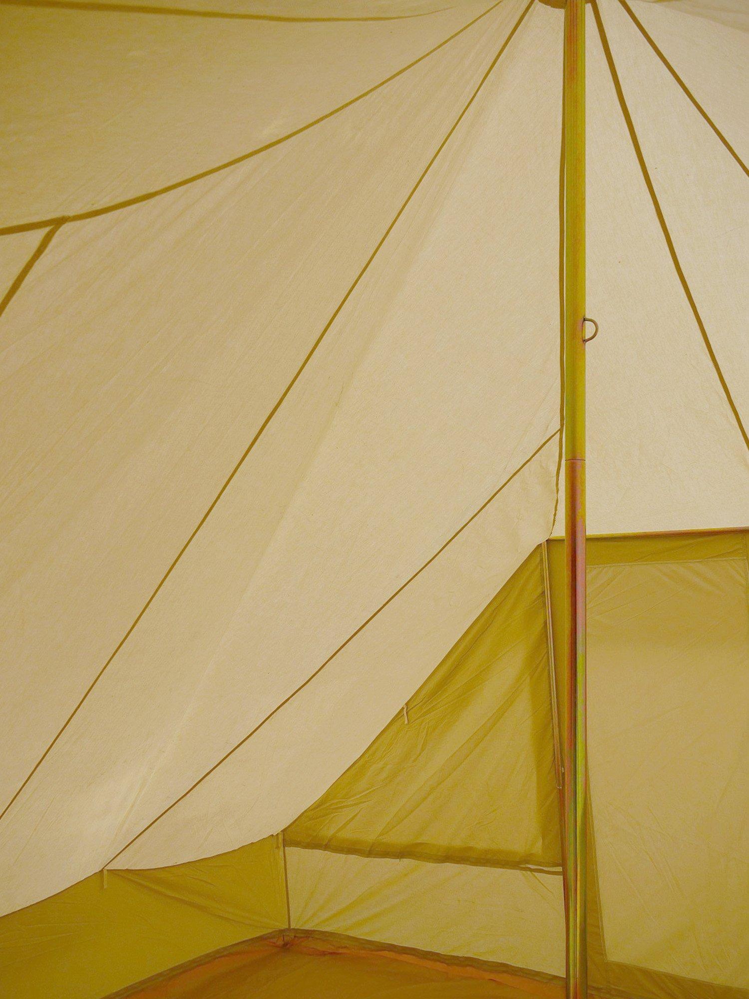 Touareg Bell Zelt 5 x 4 Meter mit Reißverschluss in