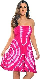 ec485e86ae Riviera Sun Strapless Tube Short Dress Summer Dresses