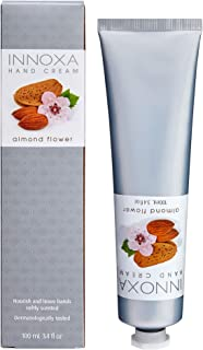 Innoxa Hand Cream Almond Flower Lightly-Scented Moisturising Paraben-Free Skin Lotion 100ml