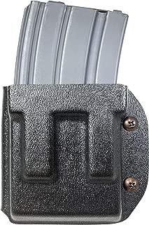 Black Scorpion Gear AR-15, M4, M16 Kydex Magazine Pouch with Adjustable Belt Attachment