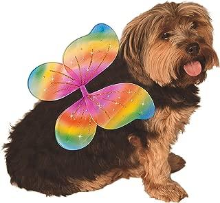 Rubie's Pet Rainbow Costume Wings, Small to Medium