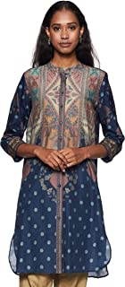 Women's Silk Viscose Regular Kurta