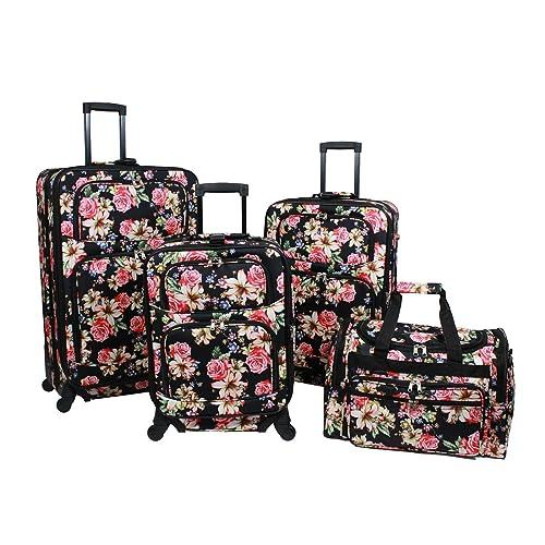 d4d952245d59 Floral Suitcase: Amazon.com