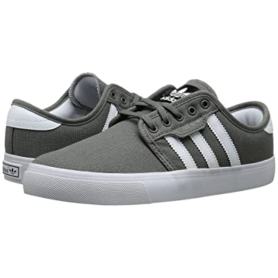 adidas Skateboarding Seeley J (Little Kid/Big Kid) (Mid Cinder/White/Black) Skate Shoes