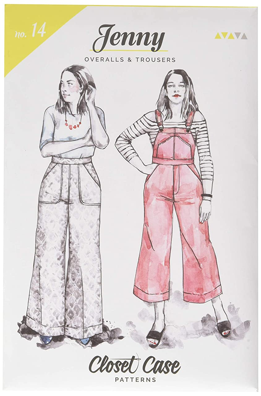 Closet Case Studio CCP14 Jenny Overalls and Trousers Pattern