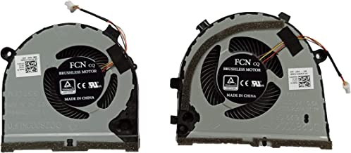 KBR Replacement CPU+GPU Cooling Fan Compatible with Dell inspiron G5 15 5587 G3 G3- 3771 3579 3779 Series Game Laptop P/N: CN-0TJHF2 CN-0GWMFV FCN DFS481105F20T FKB6 FKB7