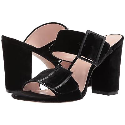 Avec Les Filles Millie (Black Velvet) High Heels