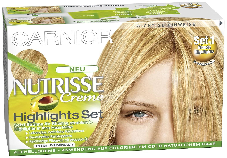 Strähnen haare blonde Kurze Rote