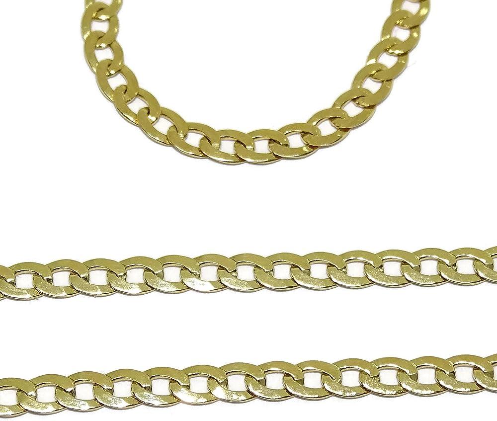 Never say never collana in oro giallo 18 k per uomo 14185513