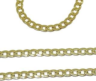 76c953db9c31 Amazon.es: cadenas de oro para hombre - Oro amarillo: Joyería