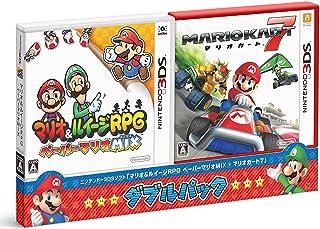 『マリオ&ルイージRPG ペーパーマリオMIX・マリオカート7』 ダブルパック - 3DS