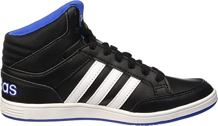 adidas neo HOOPS MID K children sneaker black F99521