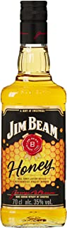 Jim Beam Honey - Bourbon Whiskey mit Honig-Likör, intensiver und sußer Geschmack, 35% Vol, 1 x 0,7l