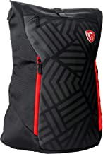 MSI Mystic Knight Gaming Laptop Backpack, Quick Access, Padded Mesh, Lightweight Polyester Exterior, Fits Up to 17