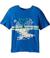 Stella McCartney Kids - Arrow Beach Whale Lightweight Tee (Toddler/Little Kids/Big Kids)