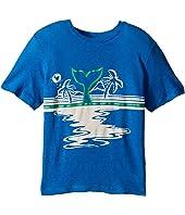 Stella McCartney Kids - Arrow Beach Whale Lightweight Tee (Toddler/Little Kids/Big Kids)