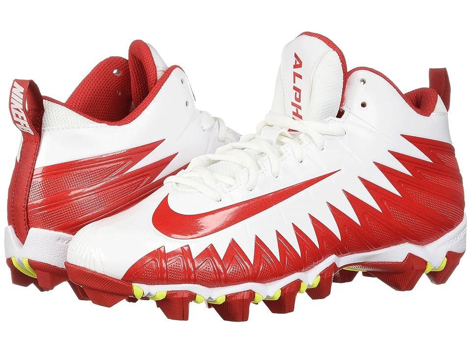Nike Alpha Menace Shark (White/University Red/University Red) Men