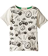 Appaman Kids - Super Soft Ready, Set, Go! Graphic Tee (Infant/Toddler/Little Kids/Big Kids)