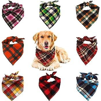 Thin Kerchief Leaves Puppy Supply Reversible Neckerchief for Birthday Festival Event 2 Pcs Dog Bandana