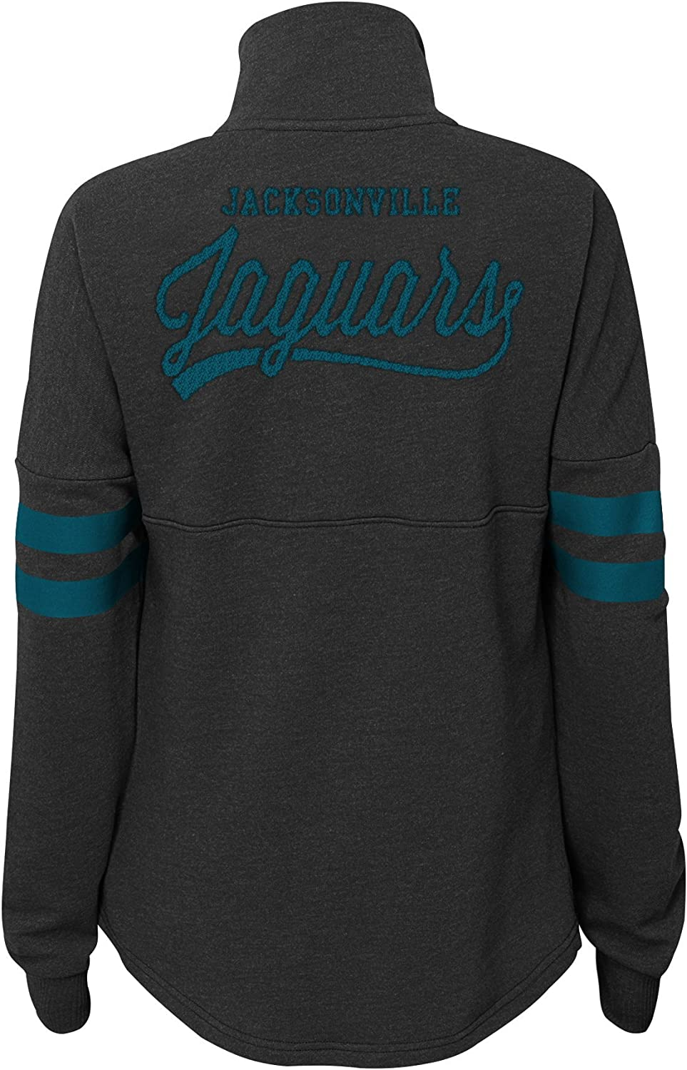 Outerstuff Womens Juniors Classic Throw Varsity 1//4 Snap Pullover Top