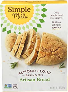 Sponsored Ad - Simple Mills Almond Flour Baking Mix, Gluten Free Artisan Bread Mix, Made with whole foods, (Packaging May ...
