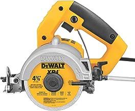 DEWALT DWC860W 4-3/8-Inch Wet/Dry Masonry Saw