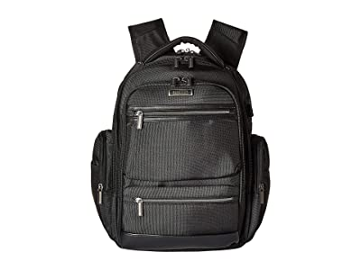 Kenneth Cole Reaction Tech IT Backpack (Black) Backpack Bags