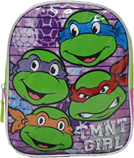 TMNT Ninja Turtles Pink 10-inch Mini Backpack